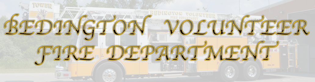 BEDINGTON VOLUNTEER FIRE DEPARTMENT